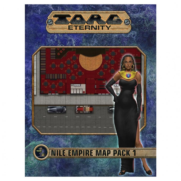 TORG: Nile Empire: Map Pack 1