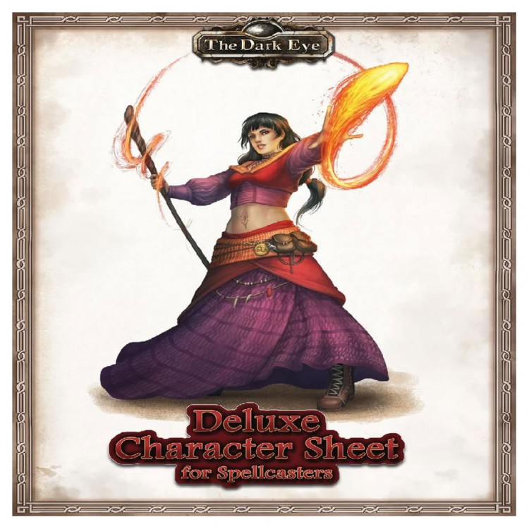 TDE: Deluxe Character Sheets Magic-users