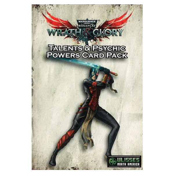 W&G: 40K: Talents & Powers Card Pack