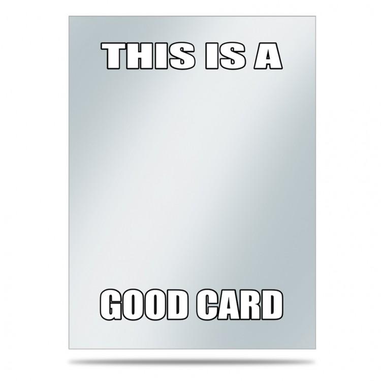 DP: Sleeve Covers: Good Card (50)