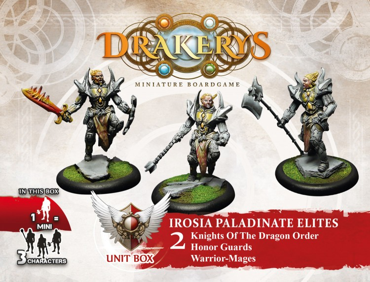 Drakerys Irosia Elite Unit Box 2 Honor