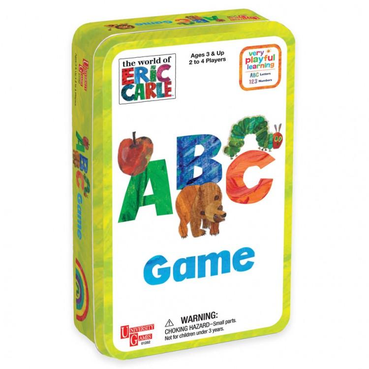 Eric Carle: ABC Game Tin