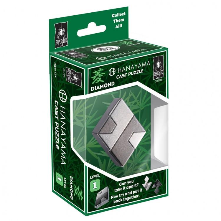 Hanayama Puzzle: Diamond Lvl 1