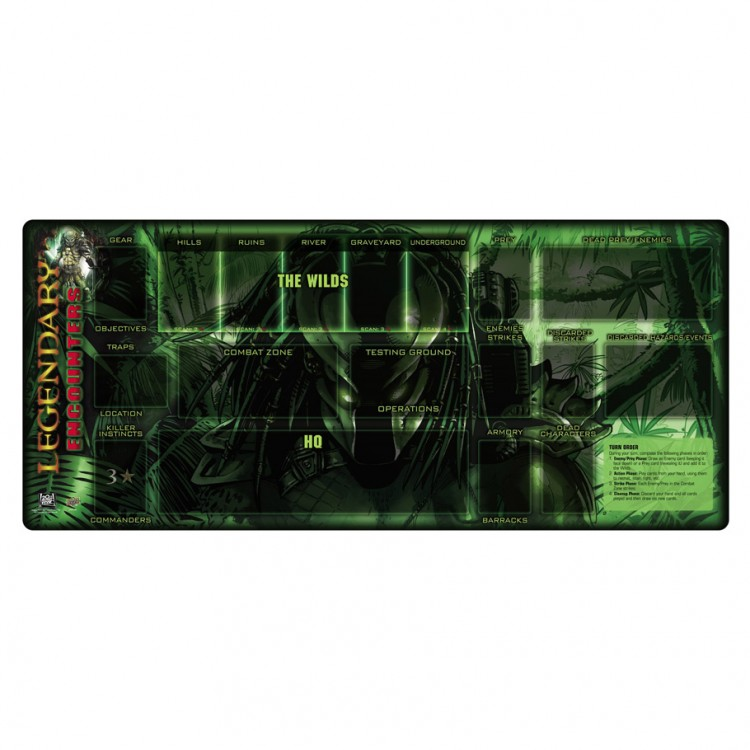 Legendary Encounters: Predator Play Mat