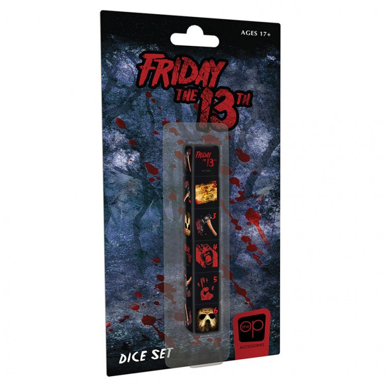 d6 Friday the 13th Dice (6)