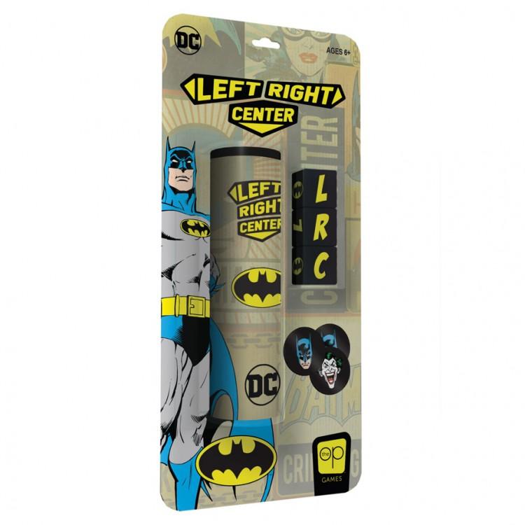 Left Right Center: Batman