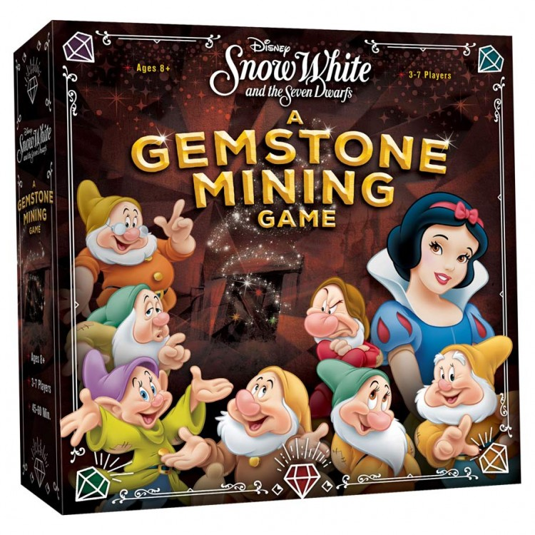 Snow White: Gemstone Mining Game