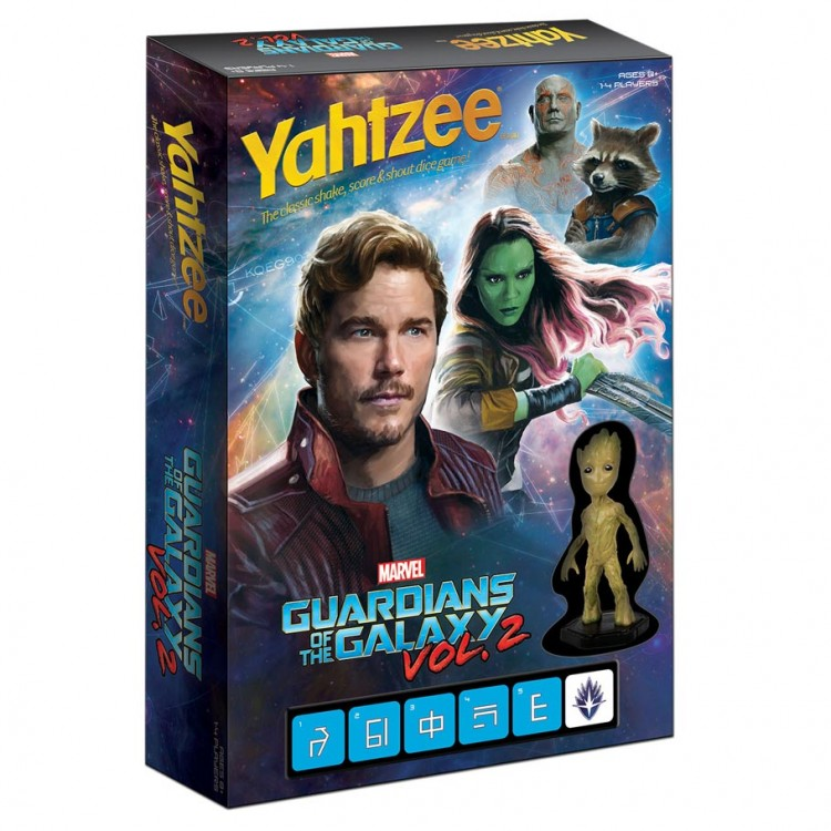 Battle Yahtzee: GotG Vol 2