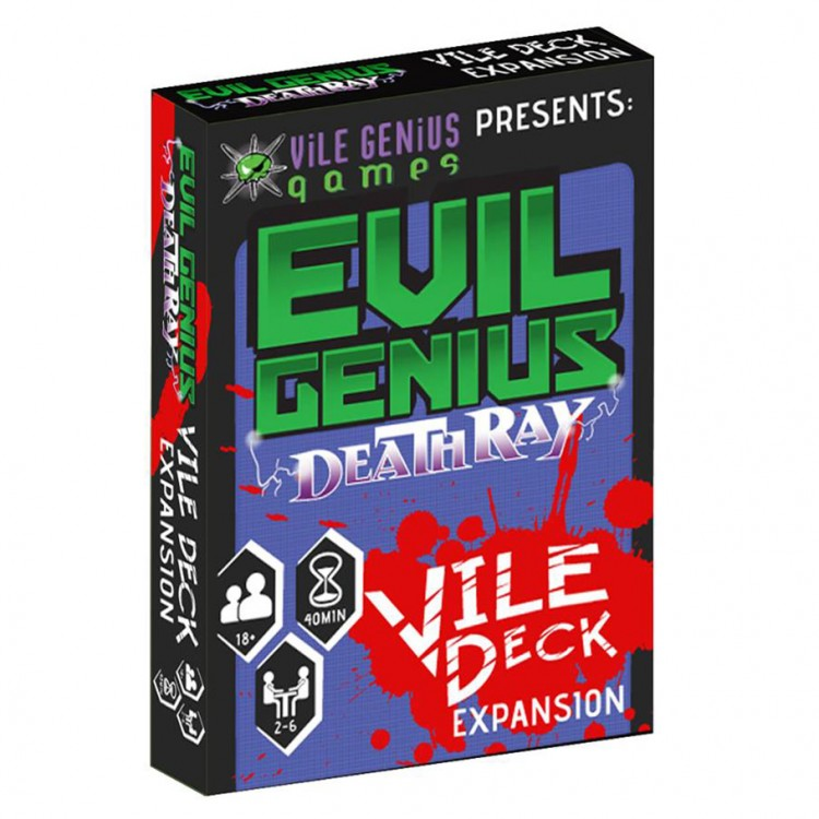 Evil Genius: Deathray: The Vile Deck