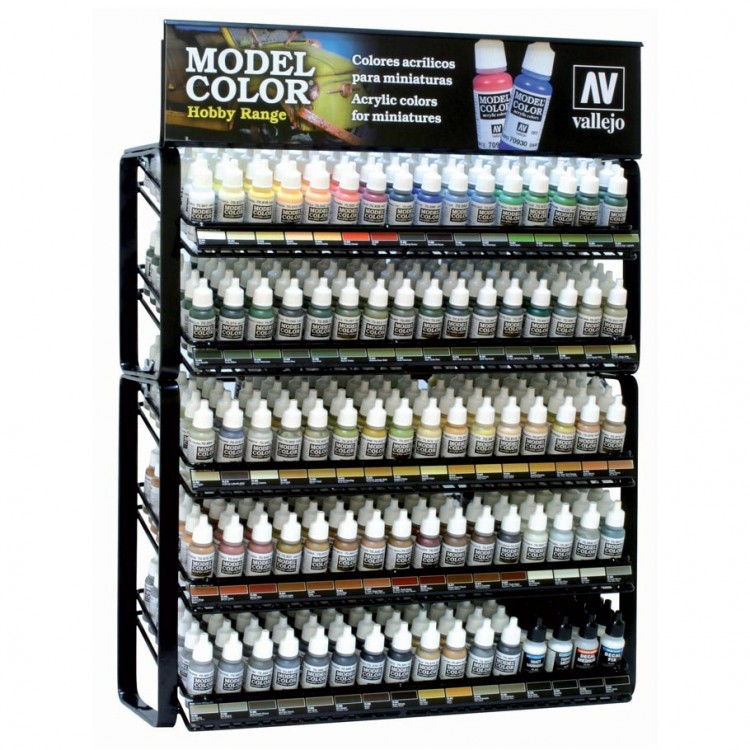 MC80 Model Color Hobby Range w/Rack