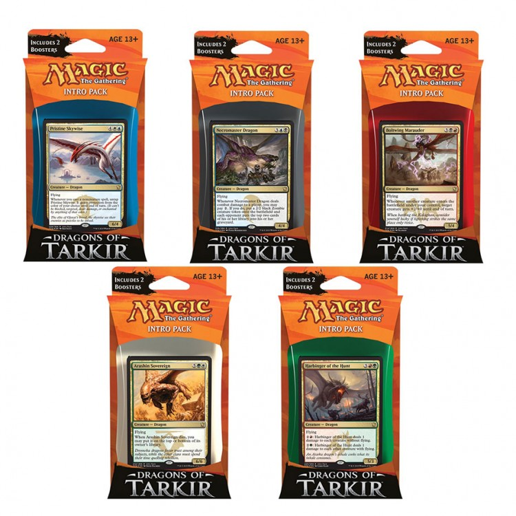 MtG: Dragons of Tarkir Intro Pack Dsply