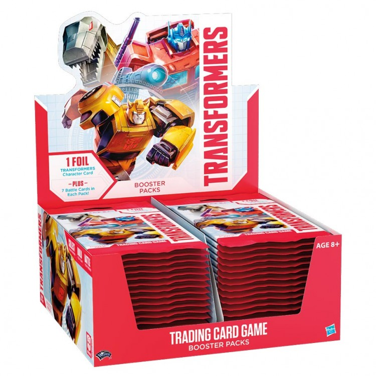 TRA: Transformers TCG Booster Display