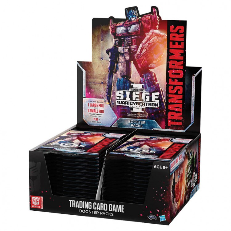 TRAN: TCG: War for Cybertron Siege BD