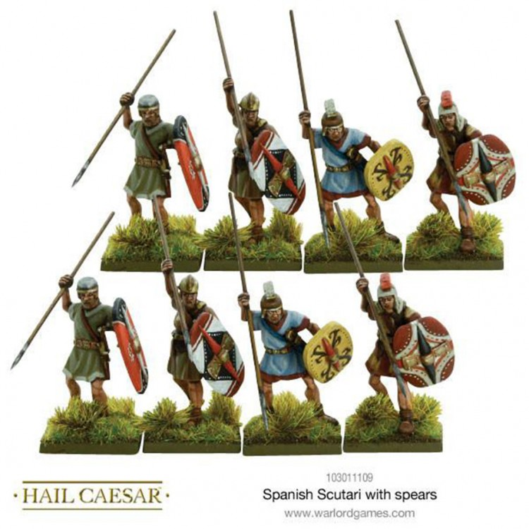 HC: Spanish Scutari with Spears