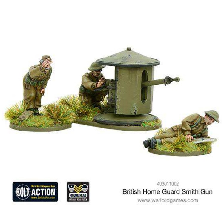 BA: Brit. Home Guard Smith Gun