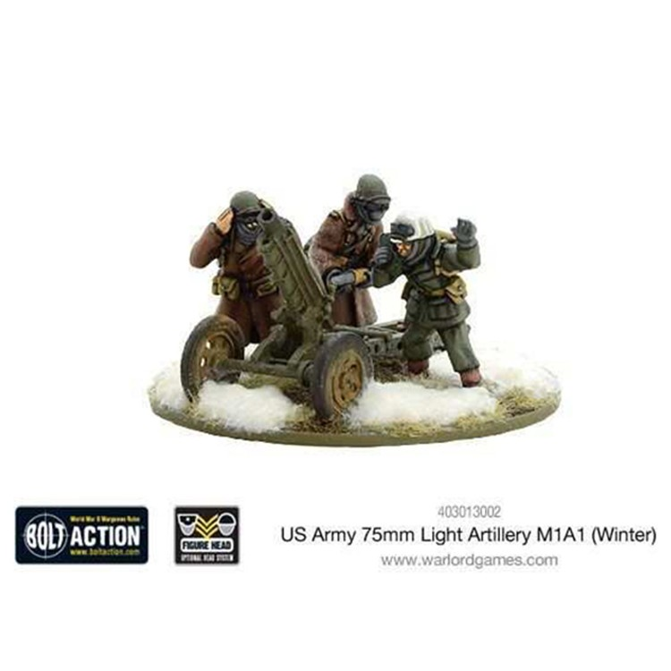 BA: US 75mm Light Art. M1A1 (Winter)