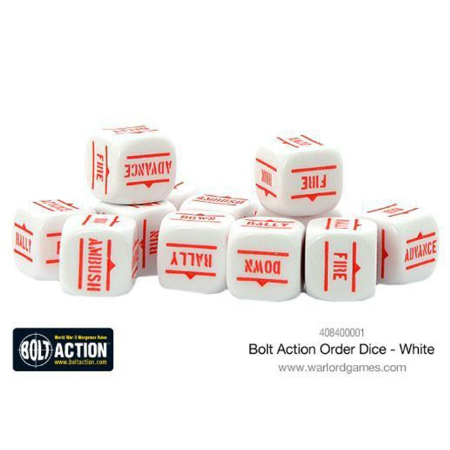BA: White Orders Dice