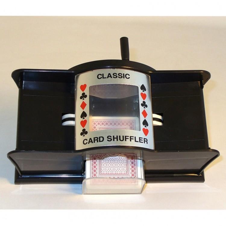 Card Shuffler: Manual 2 Decks Capacity