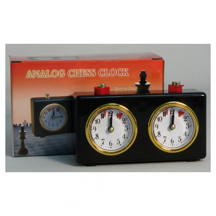 Chess Clock - Wind-Up Analog