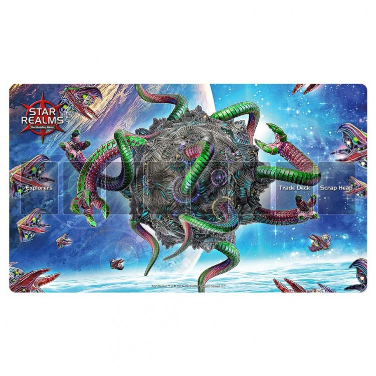 Star Realms: Infested Moon Play Mat