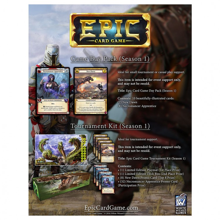 Epic: Season 1: Game Day Pack