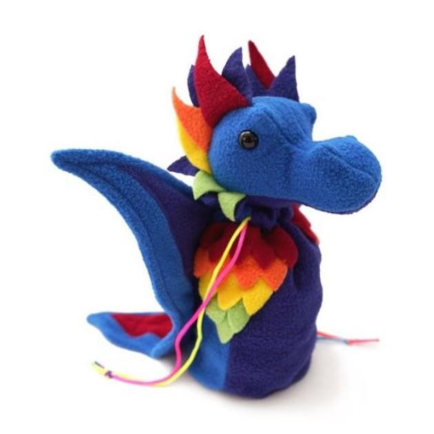 Dice Bag: Dragon Bagons Rainbow