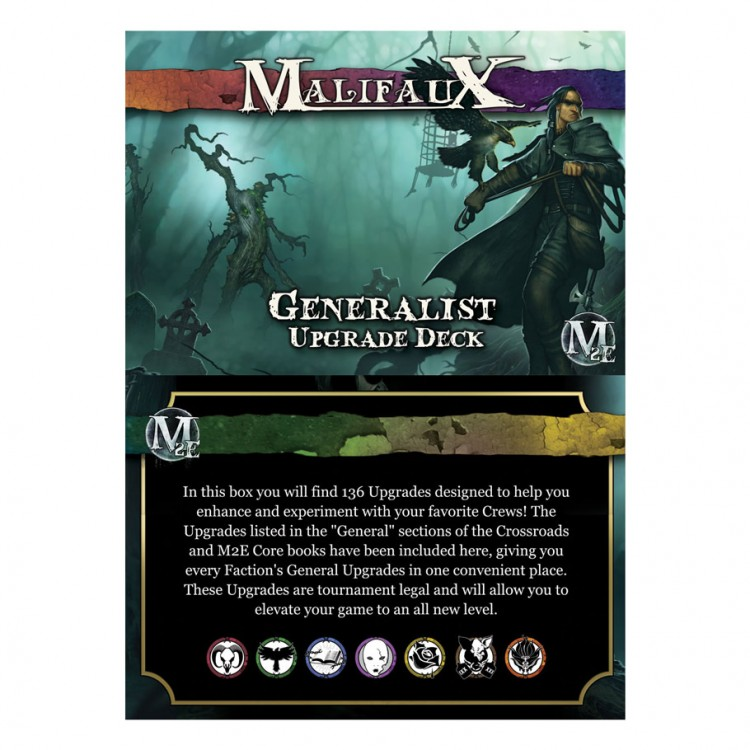 Malifaux 3E: Generalist Upgrade Deck