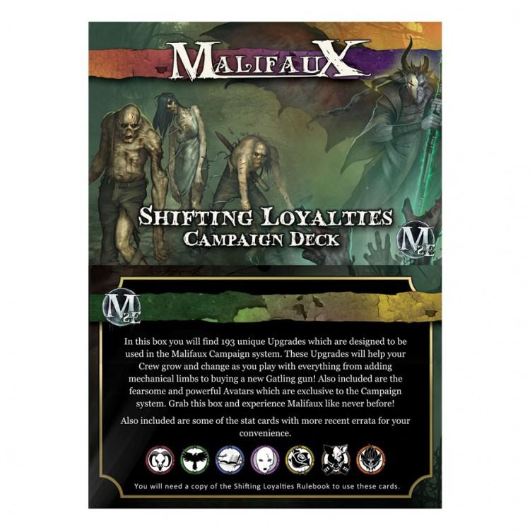 Malifaux 2E: Shifting Loyalties Camp. Dk