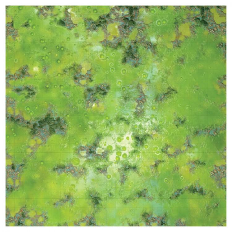 WarLock Tiles: Game Mat: Acid Lagoon