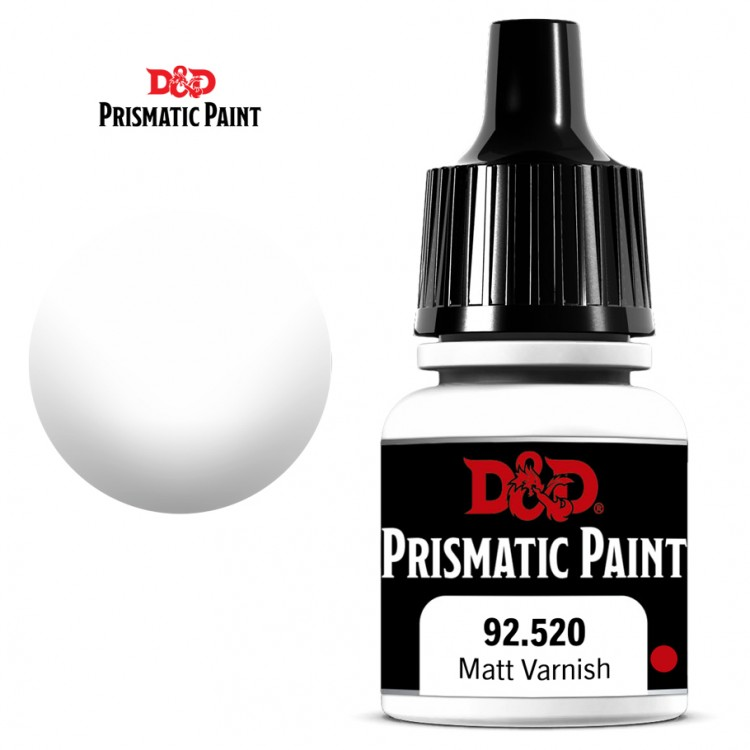 D&D PP: Matte Varnish