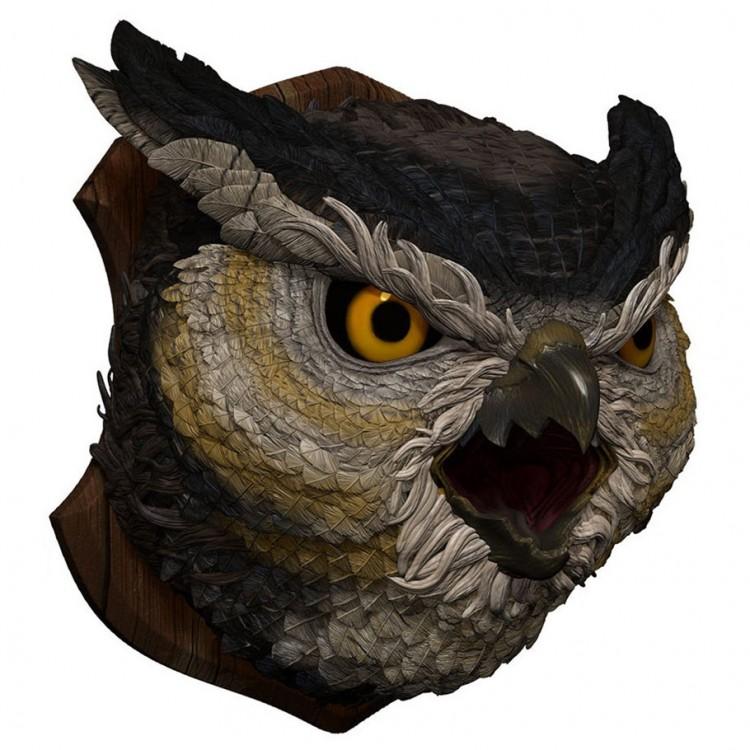 D&D: Owlbear Trophy Plaque