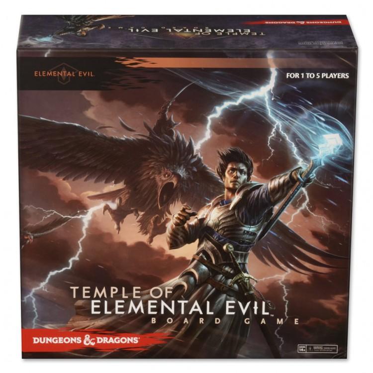 D&D Temple of Elemental Evil Board Game