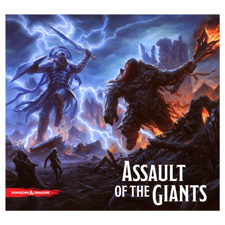 D&D: Assault of the Giants Standard Ed