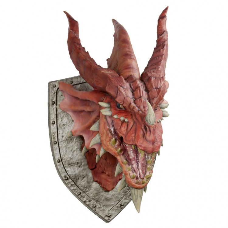 D&D: Red Dragon Trophy Plaque