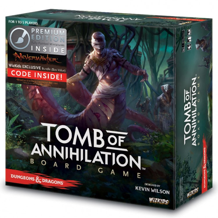 D&D: Tomb of Annihilation PE Board Game