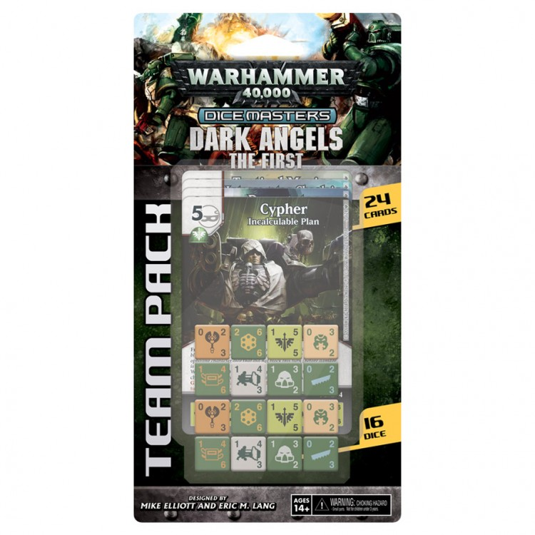 DM: 40K: Dark Angels Team Pack