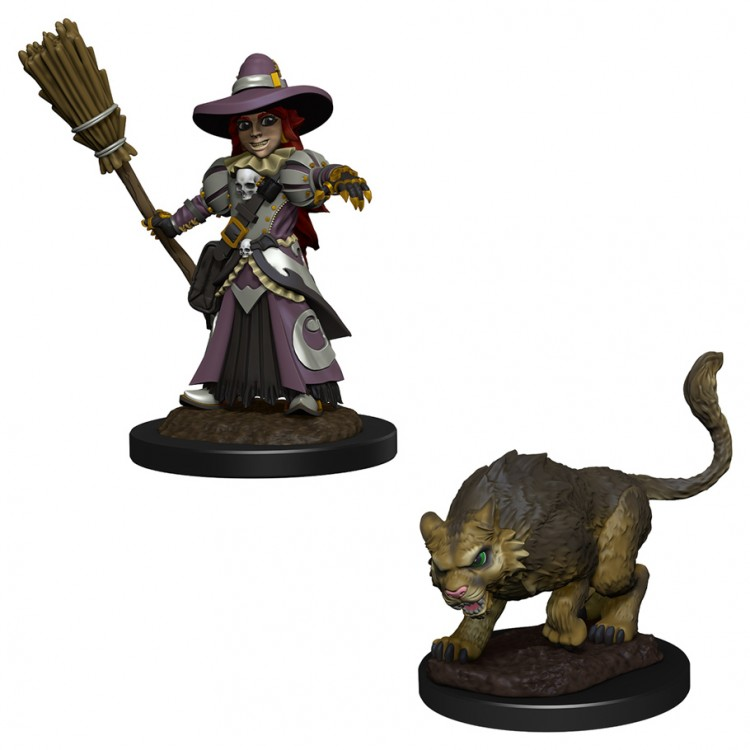 Wardlings: Girl Witch & Witch's Cat