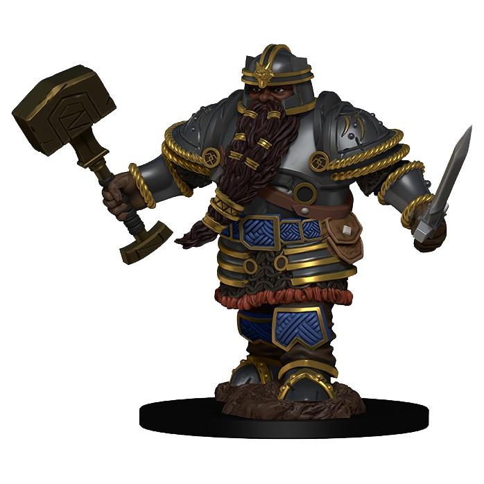 D&D Dwarf Male Fighter