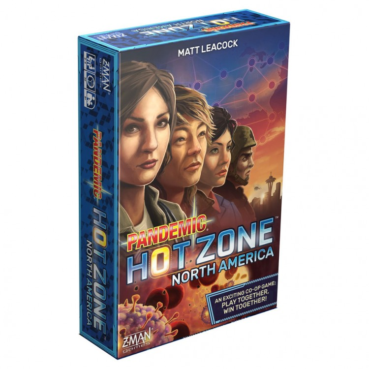 Pandemic Hot Zone: North America