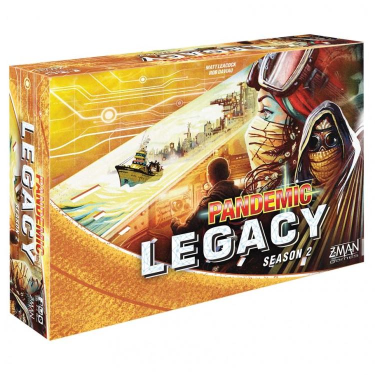 Pandemic: Legacy Season 2 (Yellow Ed)
