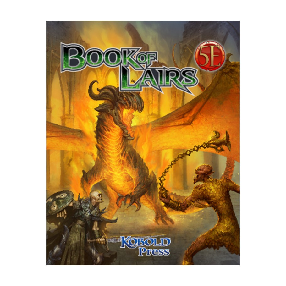 Kobold: 5E: Book of Lairs