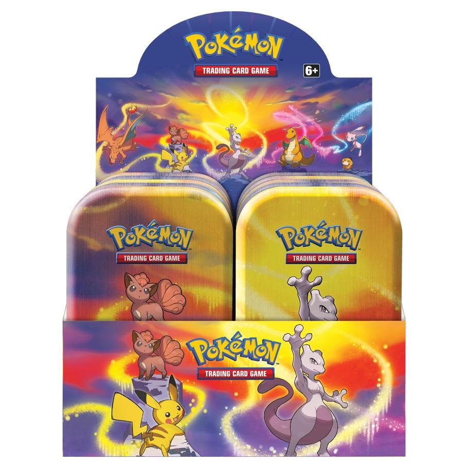 Pokemon Galar Power Mini Tin Display 10 Tins In Factory Sealed Display