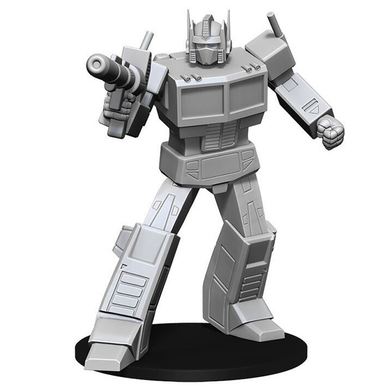Transformers Deep Cuts: Unpainted Miniatures: Optimus Prime