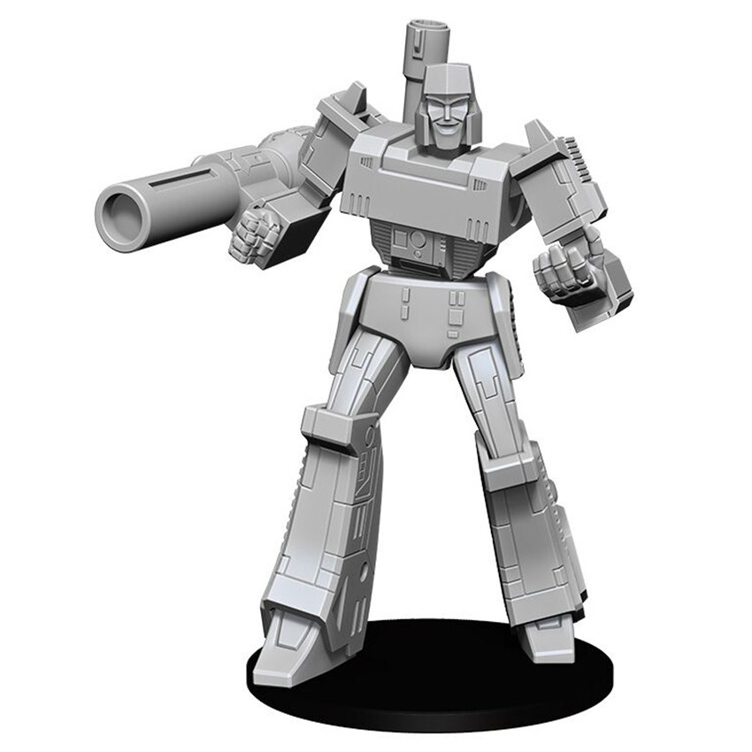 Transformers Deep Cuts: Unpainted Miniatures: Megatron