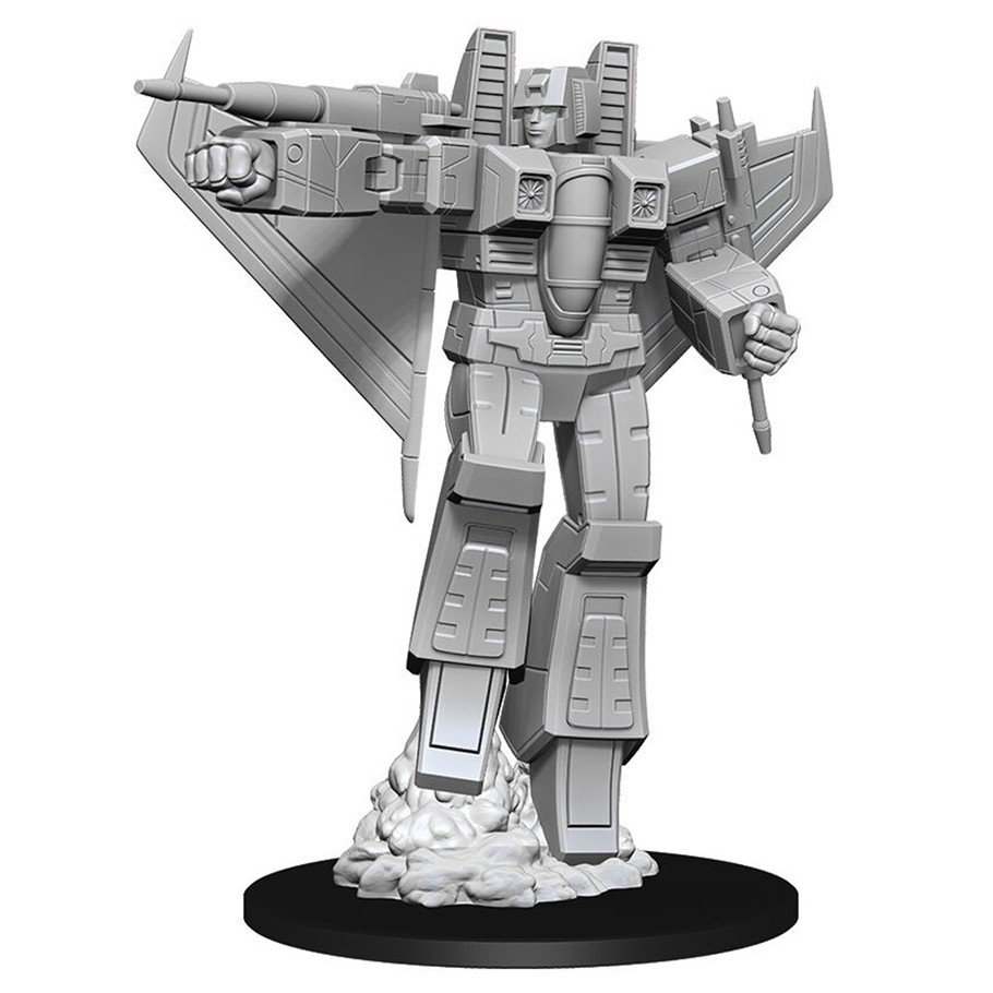 Transformers Deep Cuts: Unpainted Miniatures: Starscream