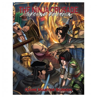 The Ninja Crusade 2E: GM Screen