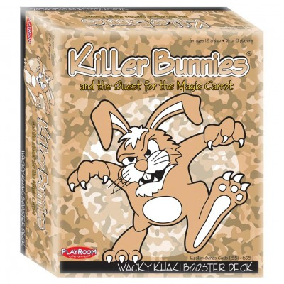Killer Bunnies: Khaki Boosters