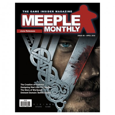 Meeple Monthly Issue 40 April 2016