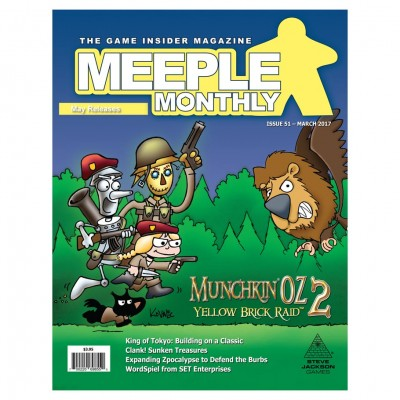 Meeple Monthly Issue 51 March 2017