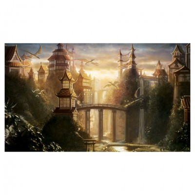 Playmat: Secret Valley- Alayna Lemmer